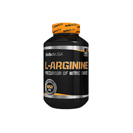 BiotechUSA Odżywka Przedtreningowa L-Arginine 90tab
