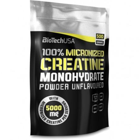 BiotechUSA 100% Creatine Monohydrate 500g