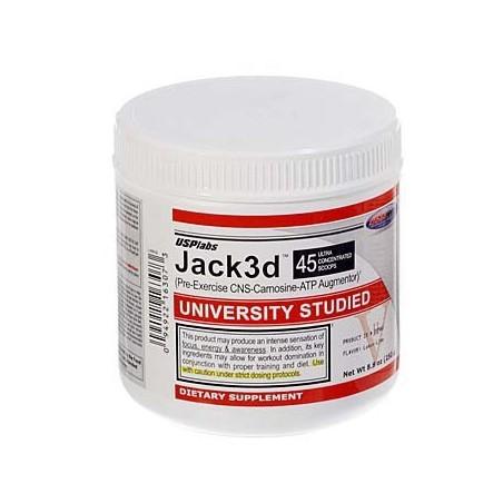 Suplement przedtreiningowy USP LABS Jack3d 250g STARA WERSJA USA