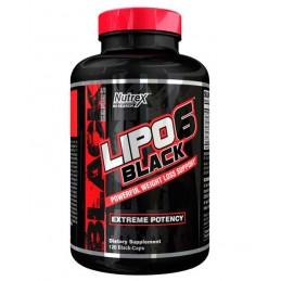 Spalacz tłuszczu NUTREX  Lipo 6 Black 120caps