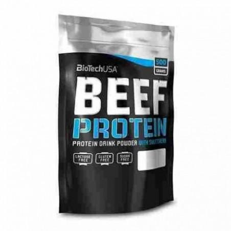 BiotechUSA Białko Serwatkowe Beef Protein 500g