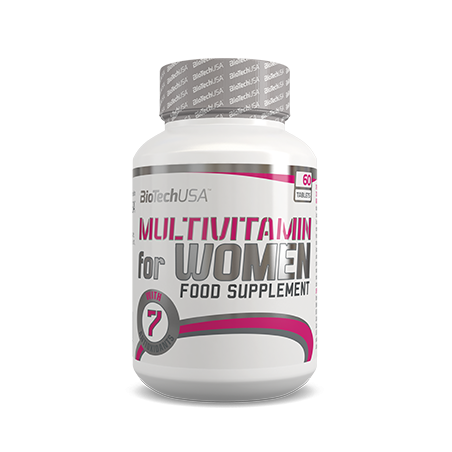 BiotechUSA Witaminy Multivitamin for Women 60tab