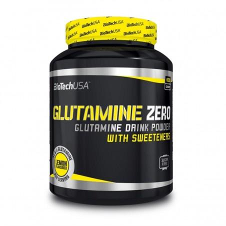 BiotechUSA Aminokwasy Glutamine Zero 600g