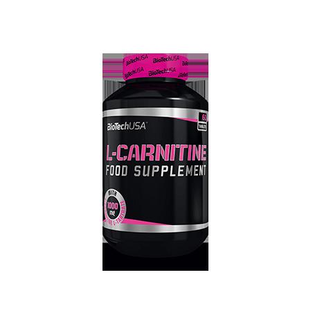 BiotechUSA Spalacz Tłuszczu L-Carnitine 1000 60tab
